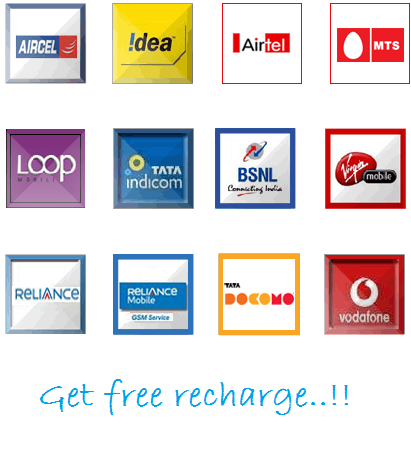 FREE RECHARGE CLICK HERE